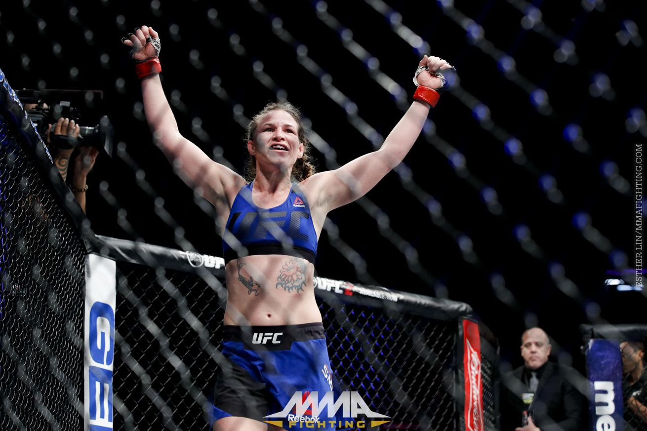 Leslie Smith gets new opponent at UFC Fight Night 113 with Lina Lansberg injured