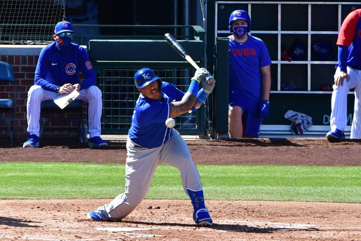 MLB: Kansas City Royals at Chicago Cubs