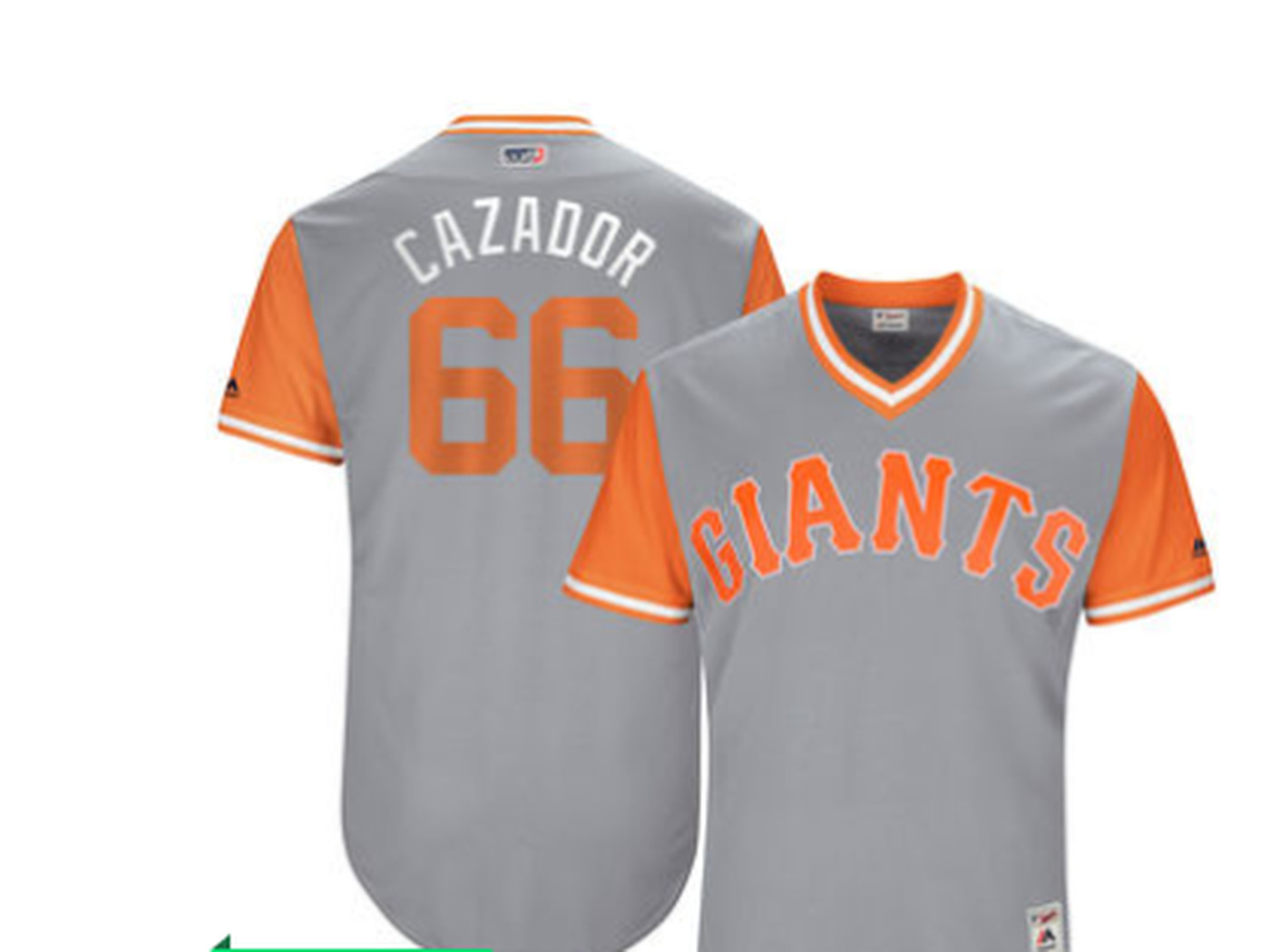 4c7f6904 The Giants will have nicknames on their jerseys, so we should rank them
