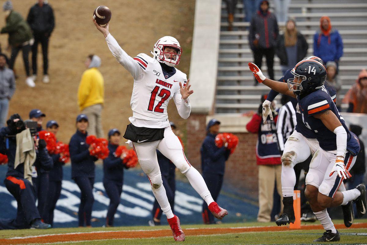 NCAA Football: Liberty at Virginia