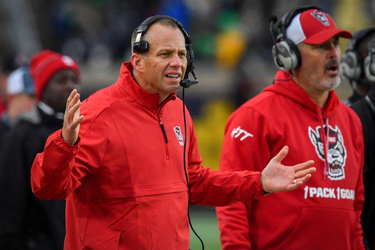 NCAA Football: North Carolina State at Notre Dame