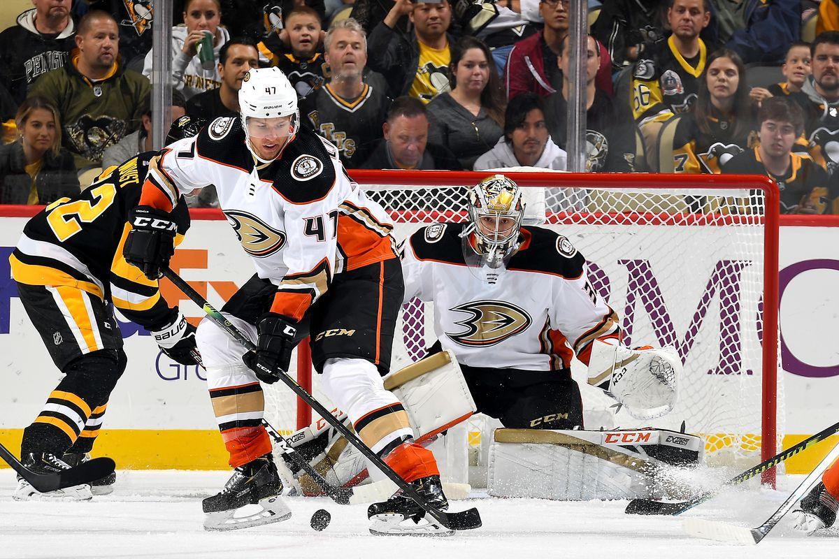 Anaheim Ducks v Pittsburgh Penguins