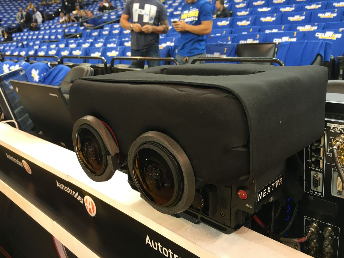 The Wall-E-like camera that NextVR uses to capture live sports in virtual reality