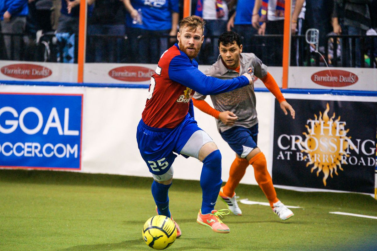 Brian Harris scored four times in the last match with Wichita
