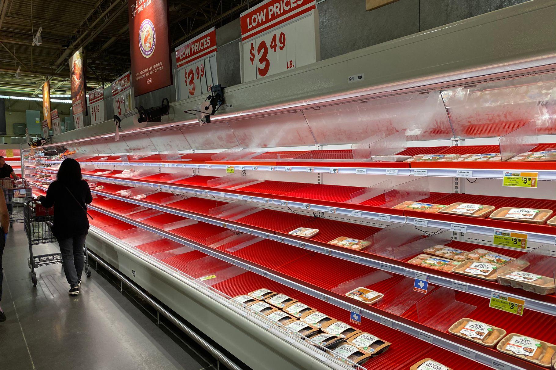 meat shortage