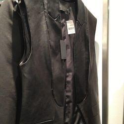Alexander Wang Leather Vest, $919