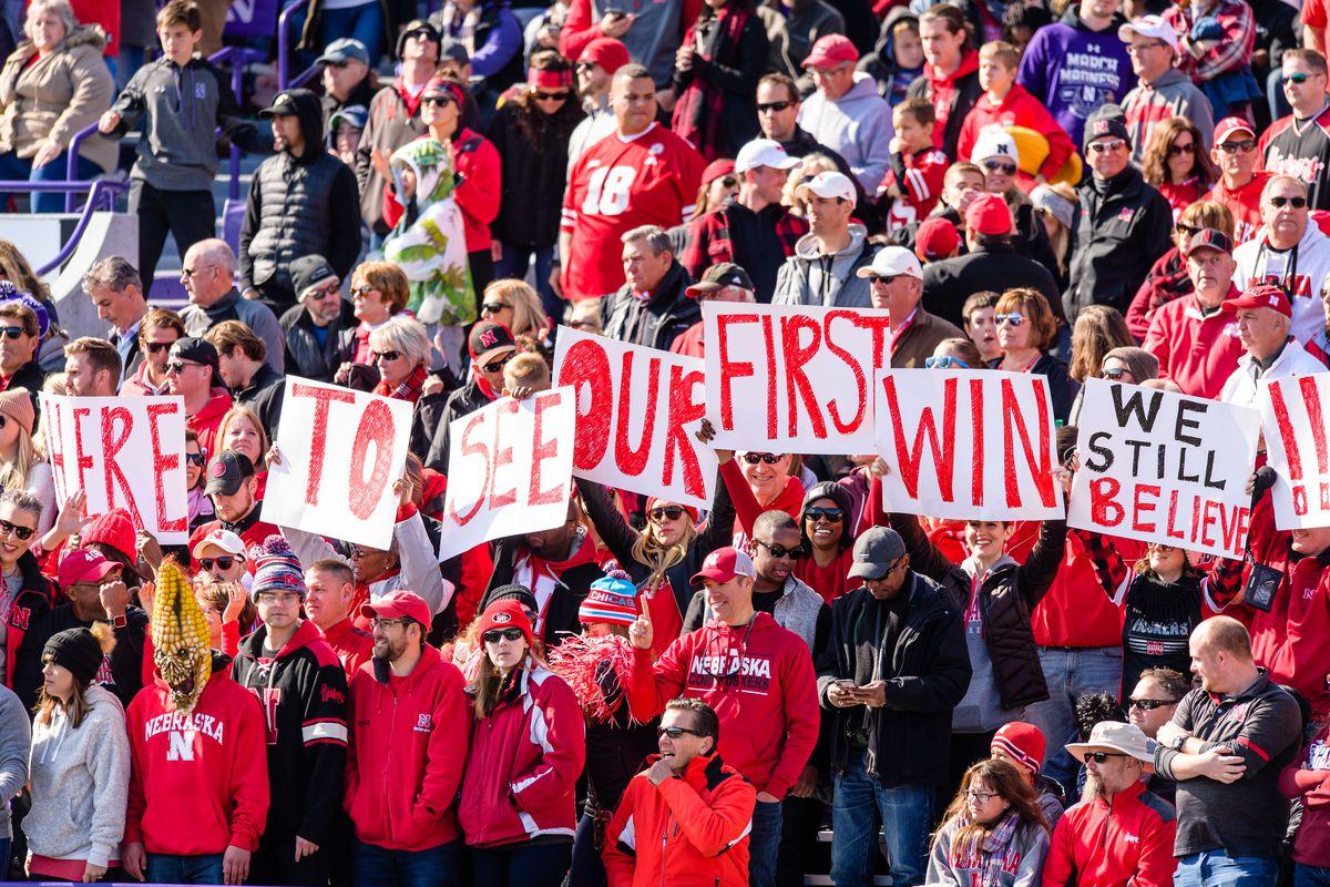 COLLEGE FOOTBALL: OCT 13 Nebraska at Northwestern