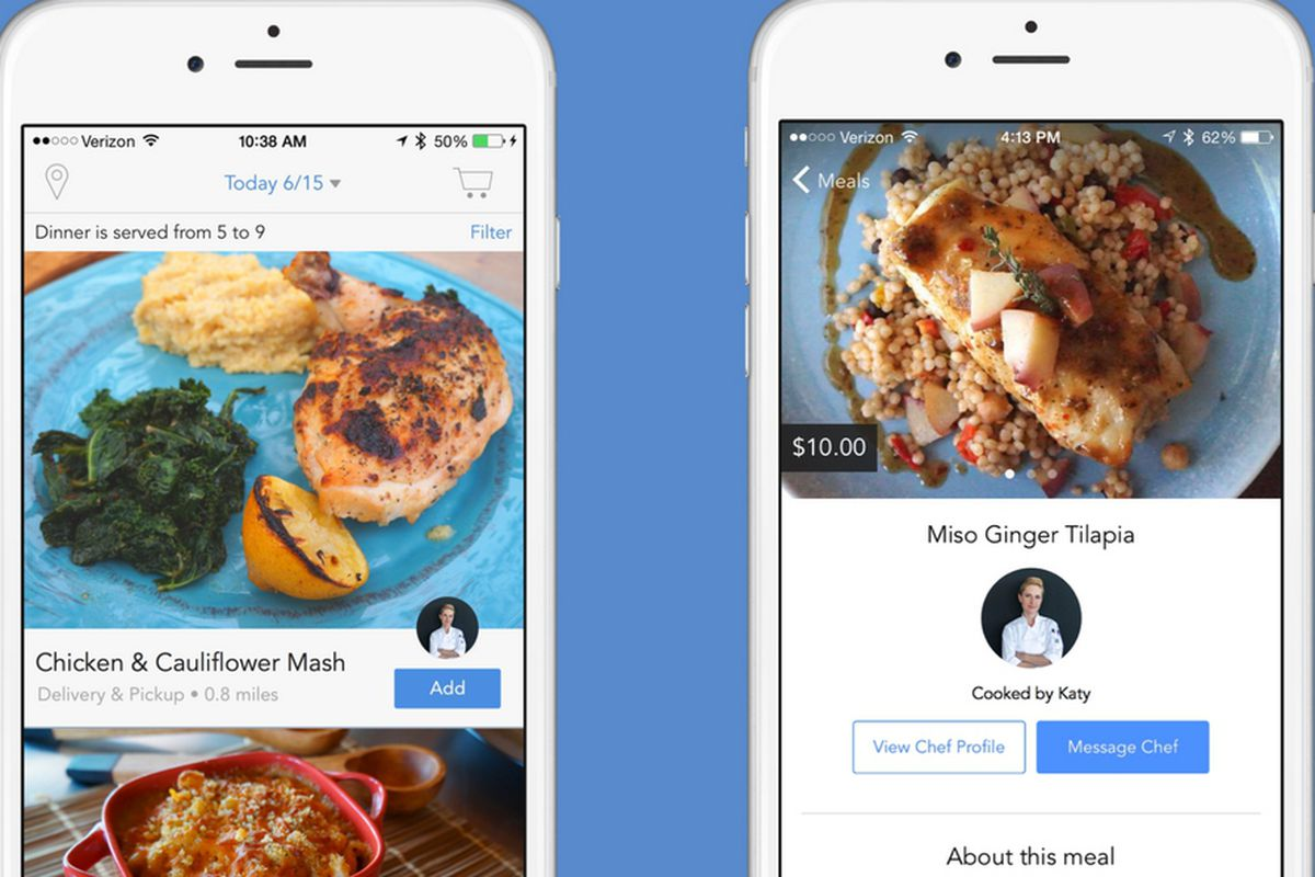 New Food Delivery App mytable Lets Local Cooks Make Your