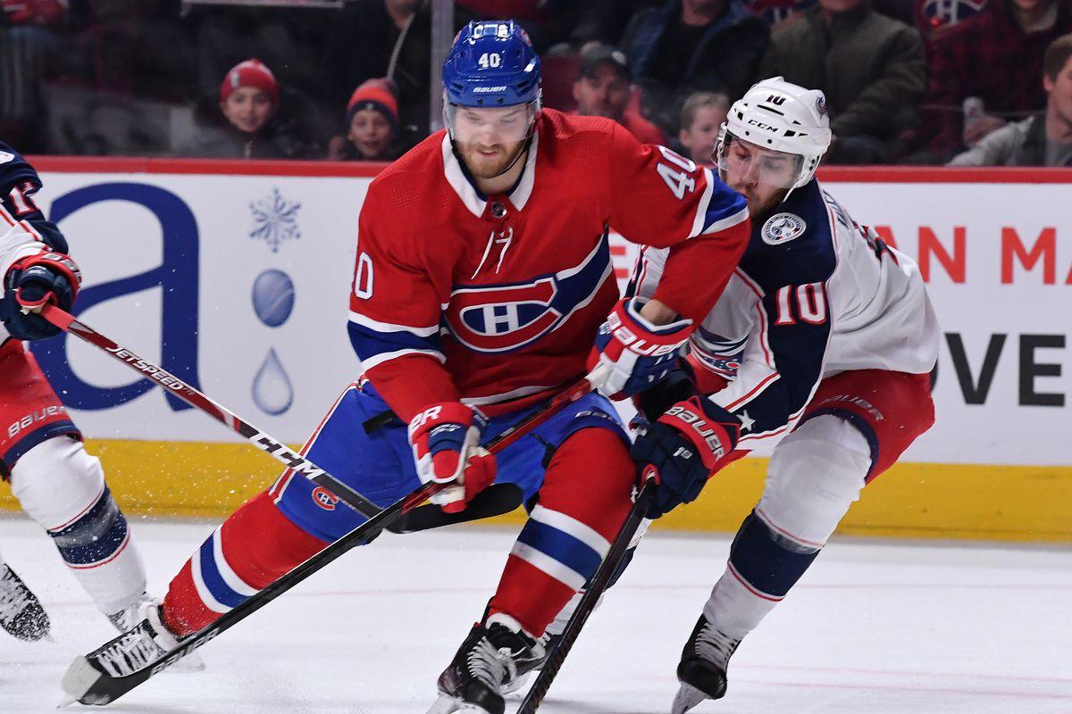 Columbus Blue Jackets v Montreal Canadiens