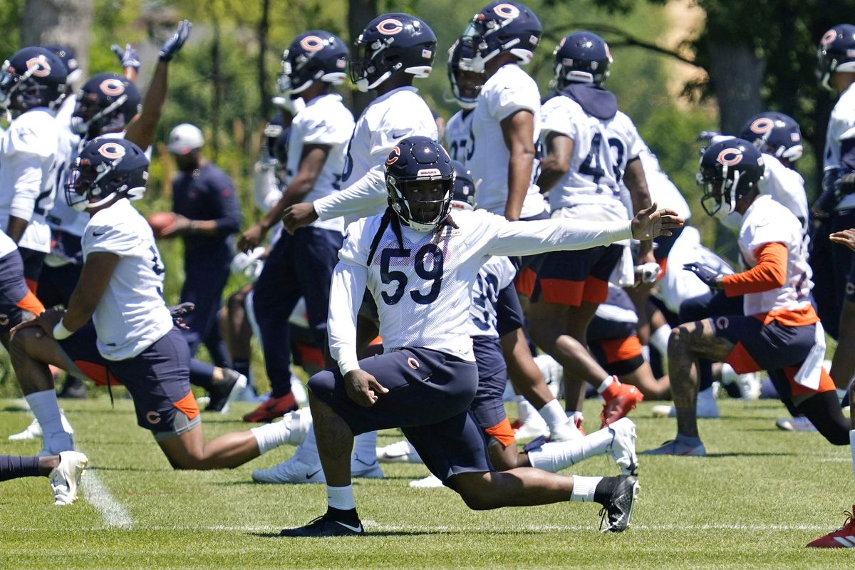 Danny Trevathan is entering his 10th season and sixth with the Bears.