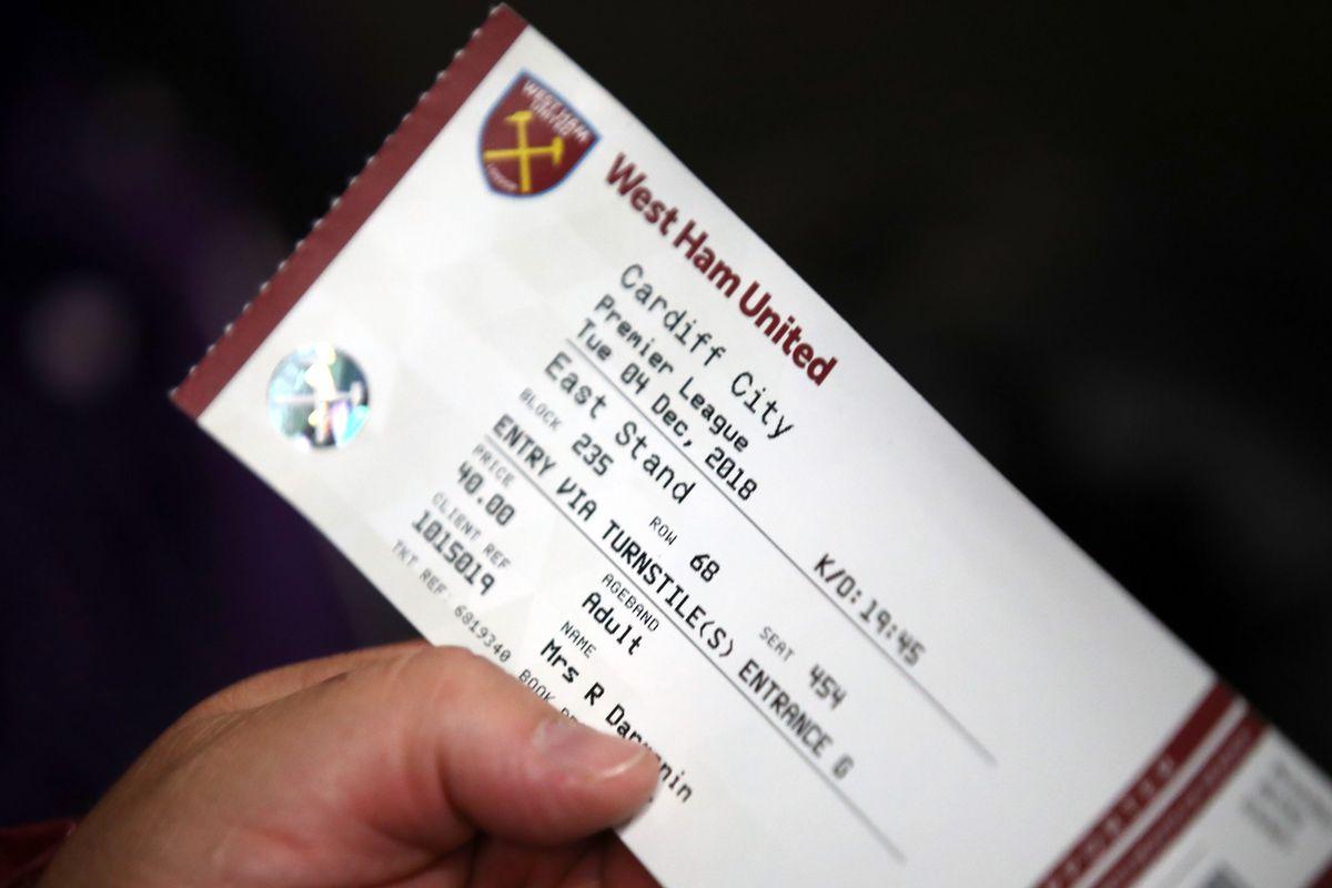 West Ham United v Cardiff City - Premier League