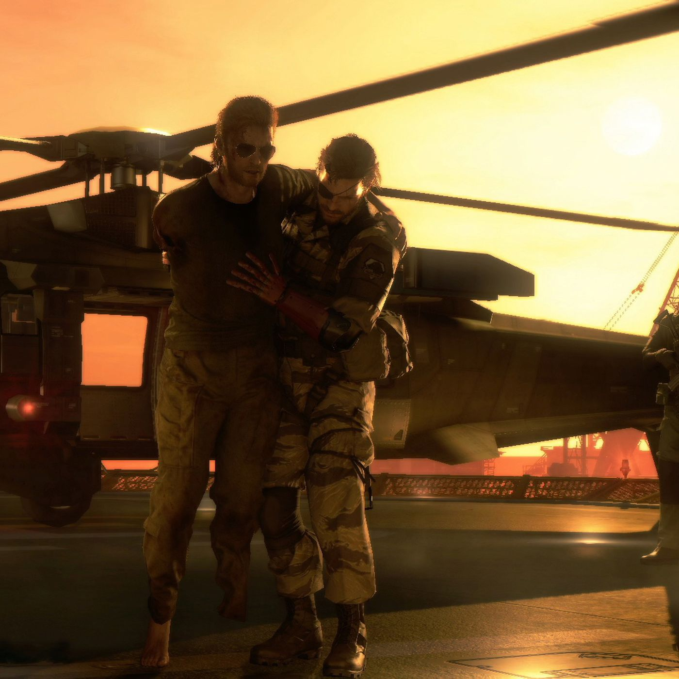 Konami says MGS5's ending isn't missing, so everyone can