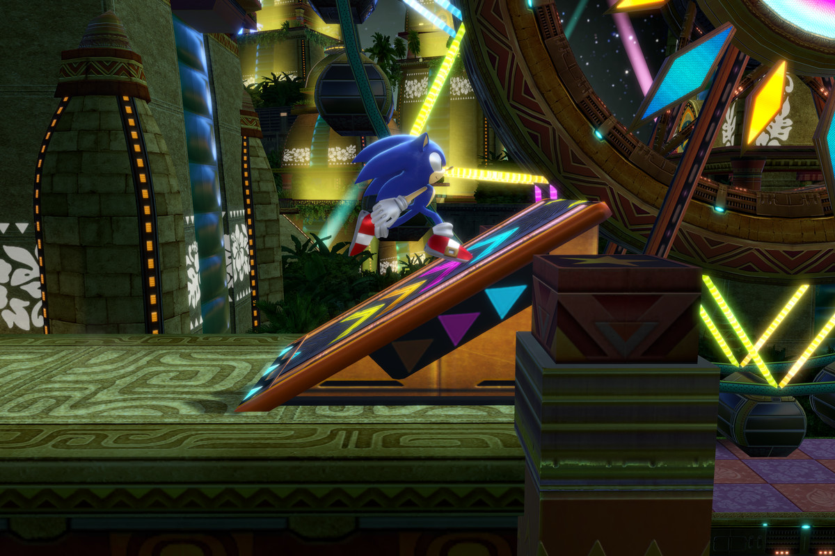 E não é que o remaster ficou bonito mesmo? Sonic colors ultimate