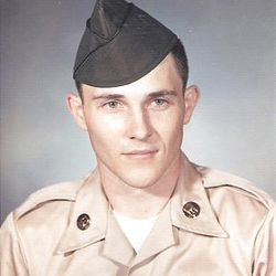 """Gary Herbert in the Army National Guard as a 22-year-old in 1969. """"Herbie"""" was described as a good hard worker — especially in sports."""