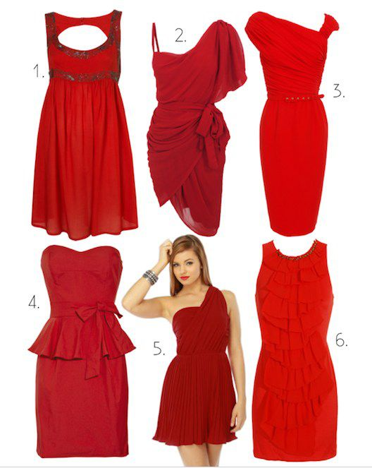 the little red dress: catch scarlet fever this valentine's day, Ideas