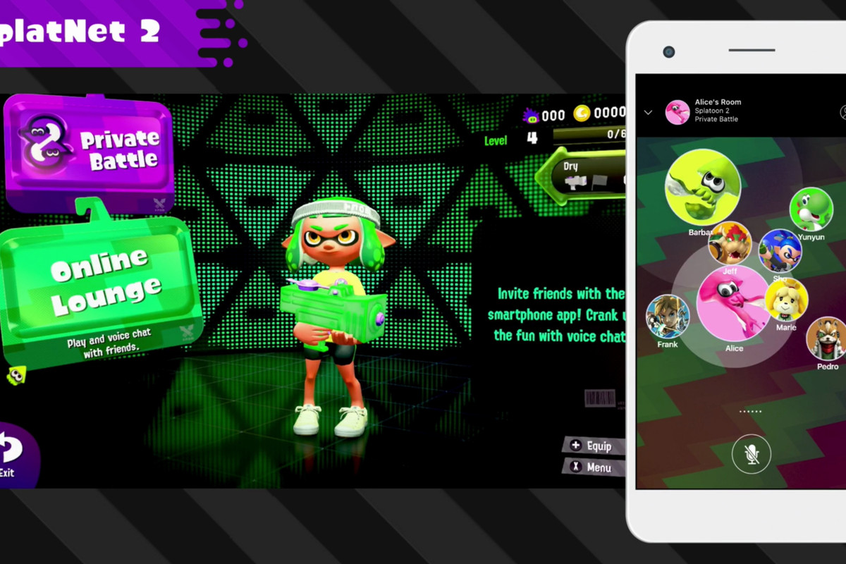 Splatoon 2 Gets Companion App Through Nintendo Switch