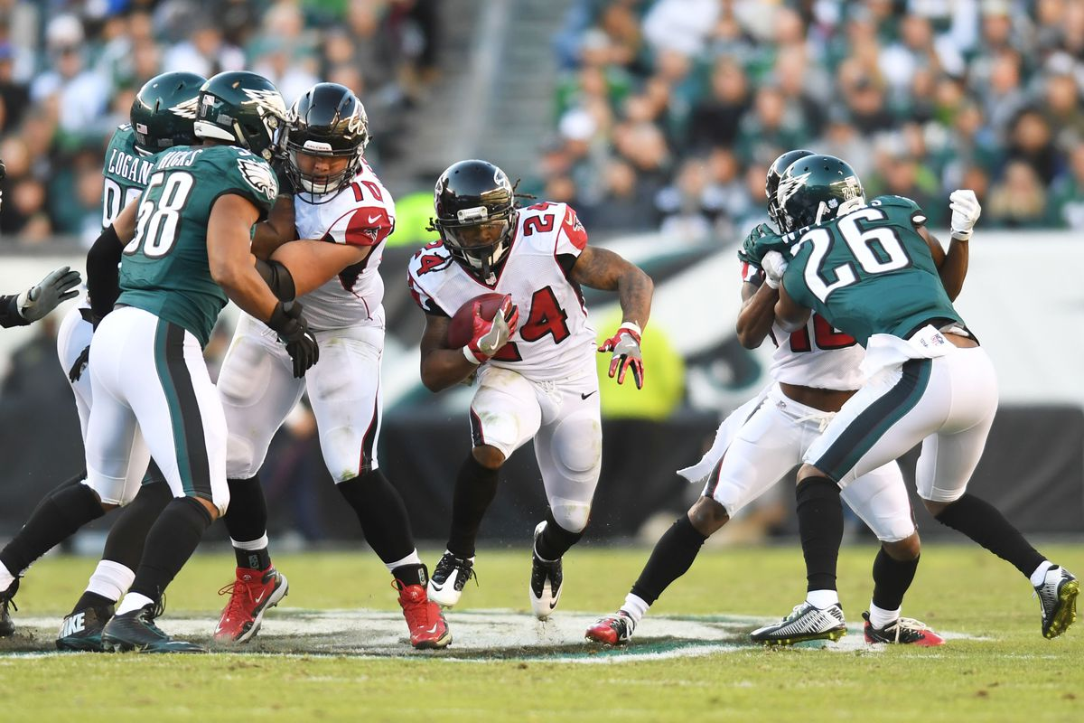 Falcons vs  Eagles: By the Numbers stats preview for Week 1