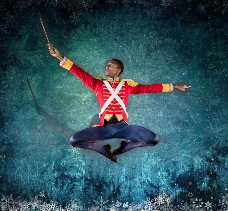 """Ruth Page Civic Ballet's """"The Nutcracker"""" dancer Elias Re. Photo by Anthony Robert La Penna."""