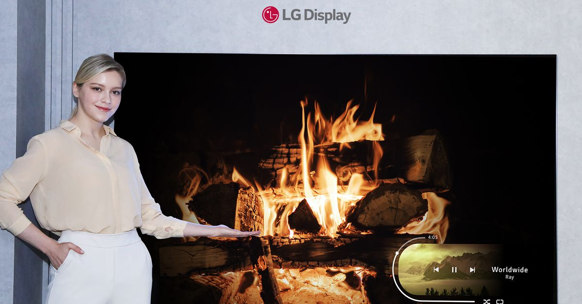 LG Display announces its smallest OLED TV panel yet – The Verge