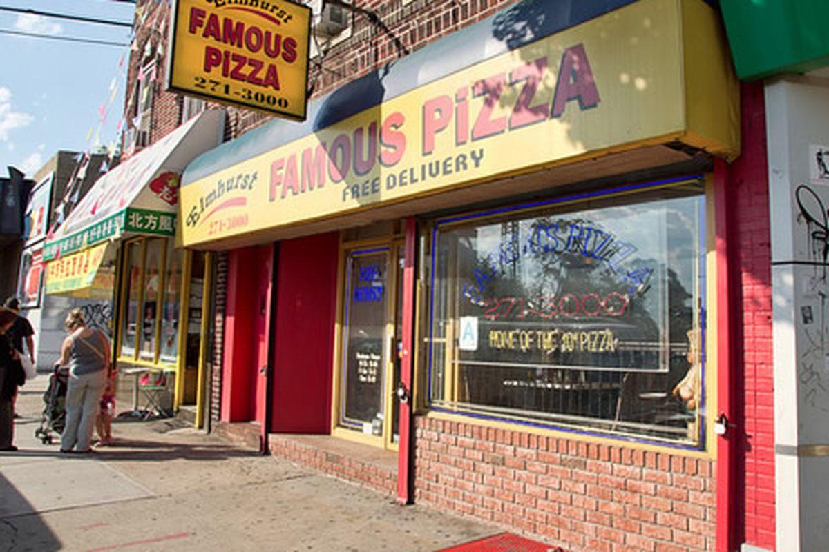 Elmhurst Famous Pizza, Elmhurst, NY