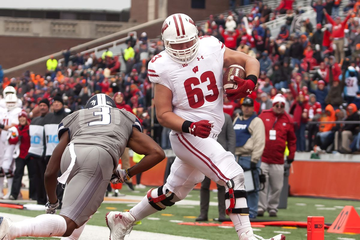 634085b9735e0 Miami Dolphins select Wisconsin offensive lineman Michael Deiter in 3rd  Round of 2019 NFL Draft