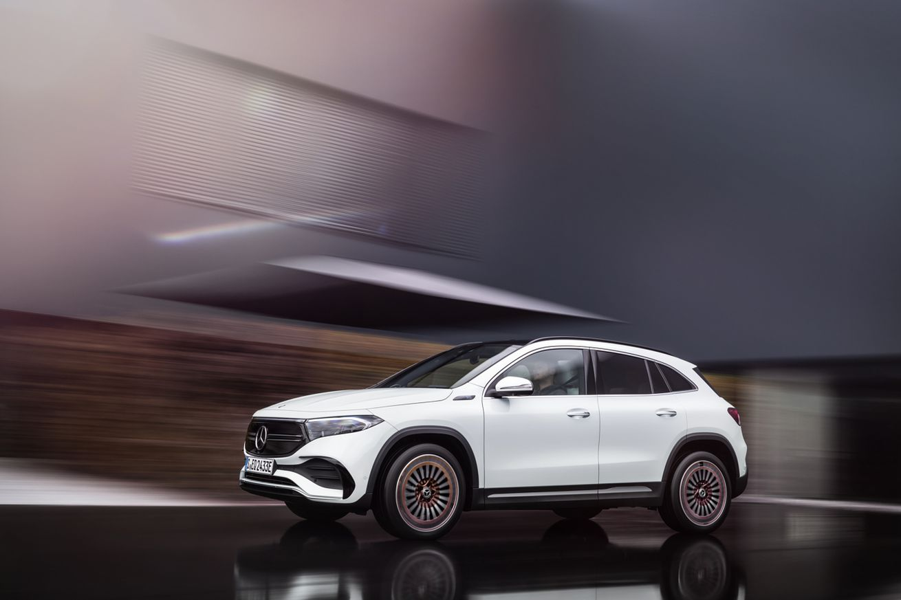 Mercedes-Benz unveils EQA electric crossover with less than 300 miles of range