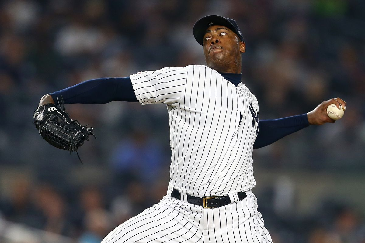 c305ffed0 Has Yankees closer Aroldis Chapman become more of a command pitcher ...