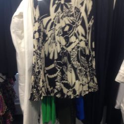 Floral pleated skirt, $600