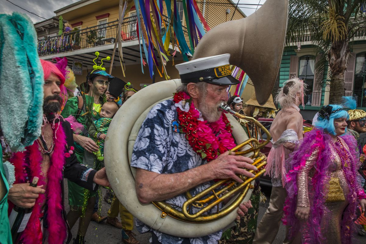 Mardi Gras Celebrations In New Orleans