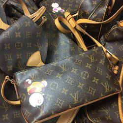 Louis Vuitton handbag, $875