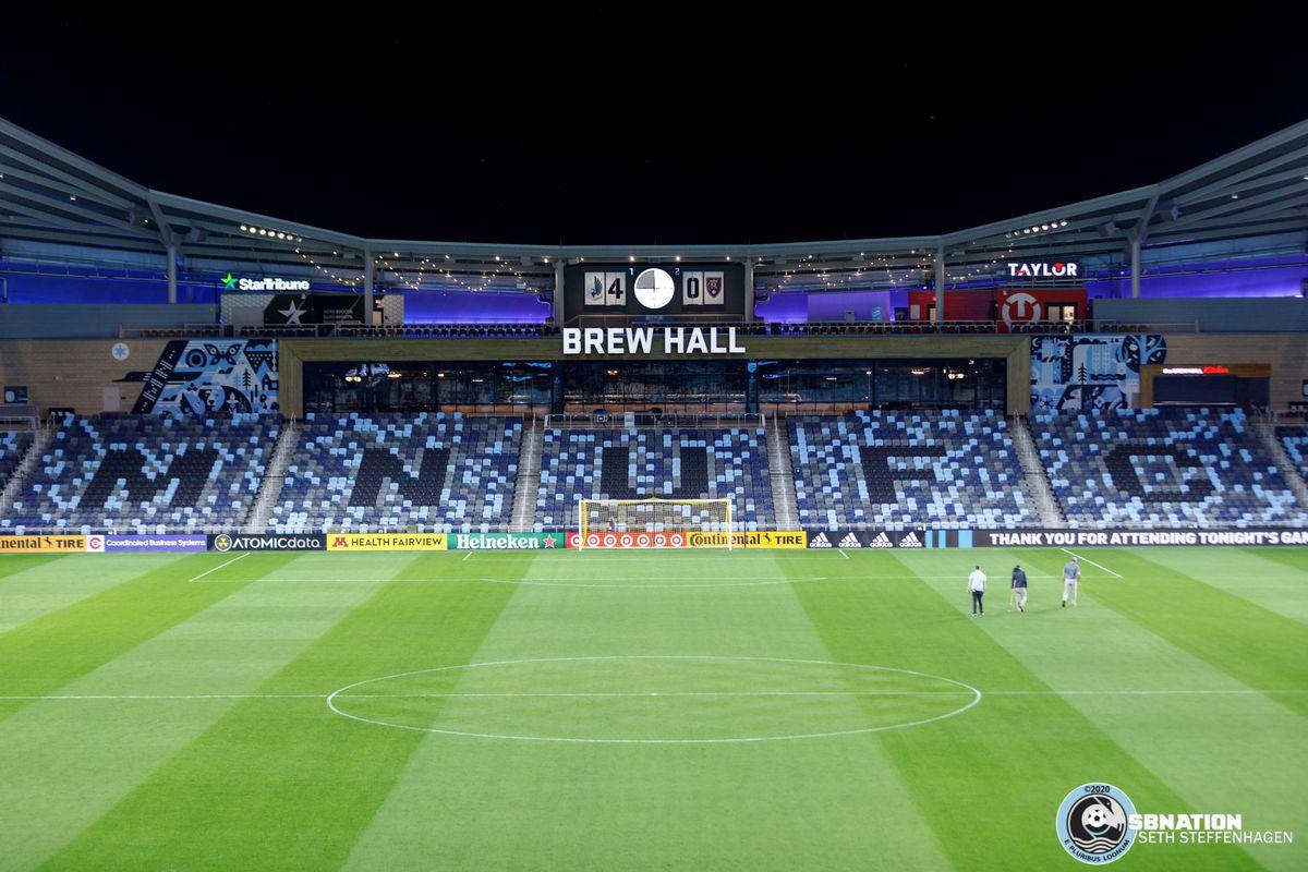 September 6, 2020 - Saint Paul, Minnesota, United States - Minnesota United defeated Real Salt Lake by a score of 4-0 at Allianz Field.