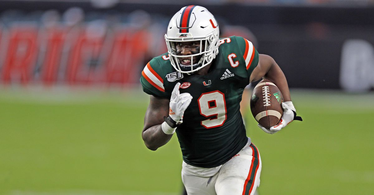 Draft profiles: what they're saying about Brevin Jordan - State Of The U