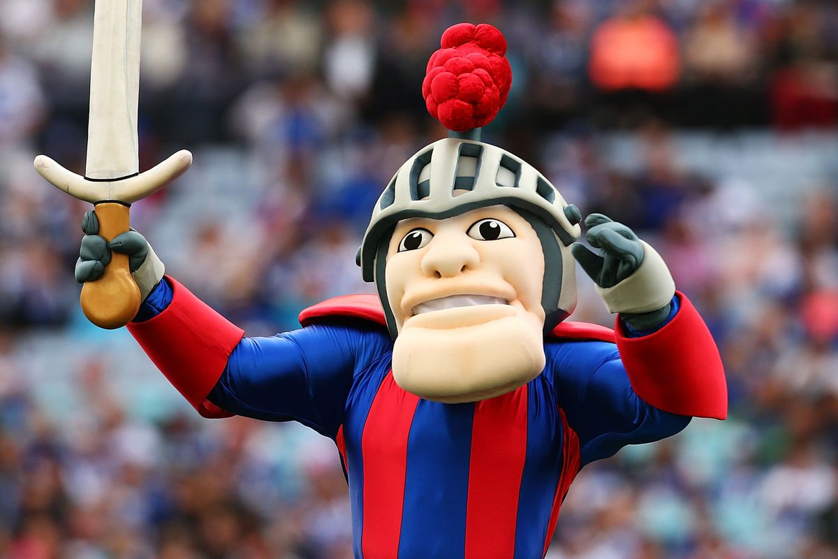 This is actually the mascot of the Newcastle Knights of the Australian National Rugby League.  Close enough, I guess.