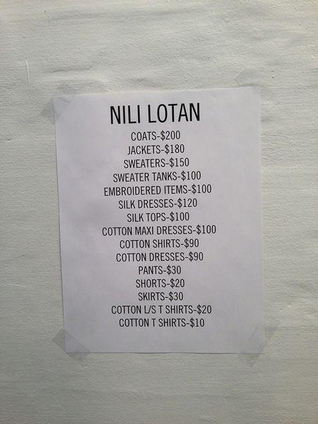 Diehard Fans Raid the Nili Lotan Sample Sale - Racked NY