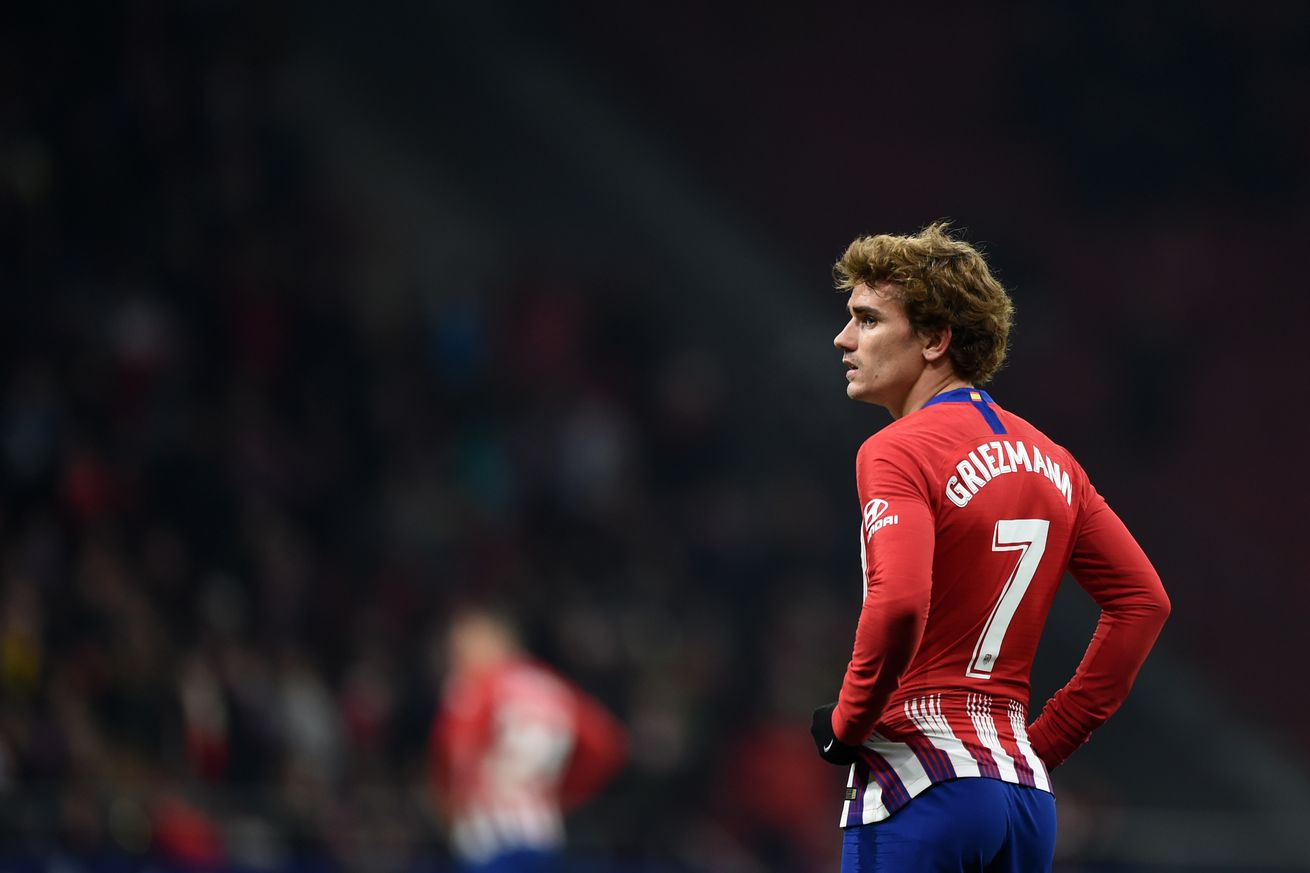 Atlético Madrid 3-3 Girona (4-4 aggregate): Atlético out of Copa del Rey