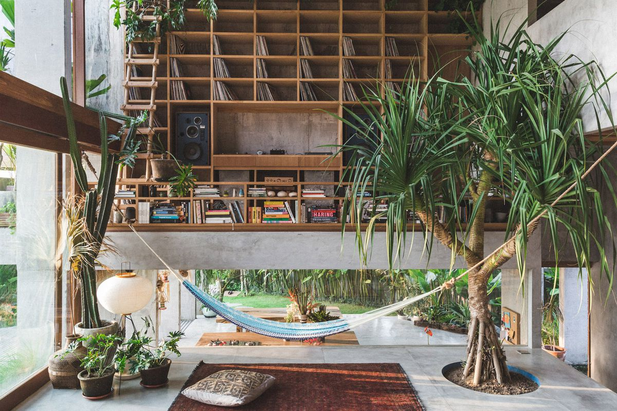 Concrete House Is A Tropical Brutalist Dream In Bali Curbed