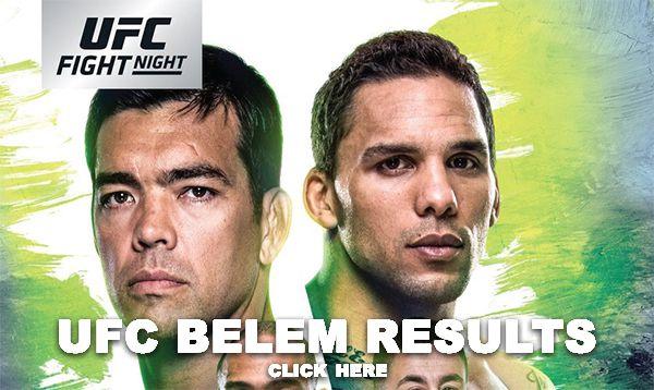 UFC Belem Results