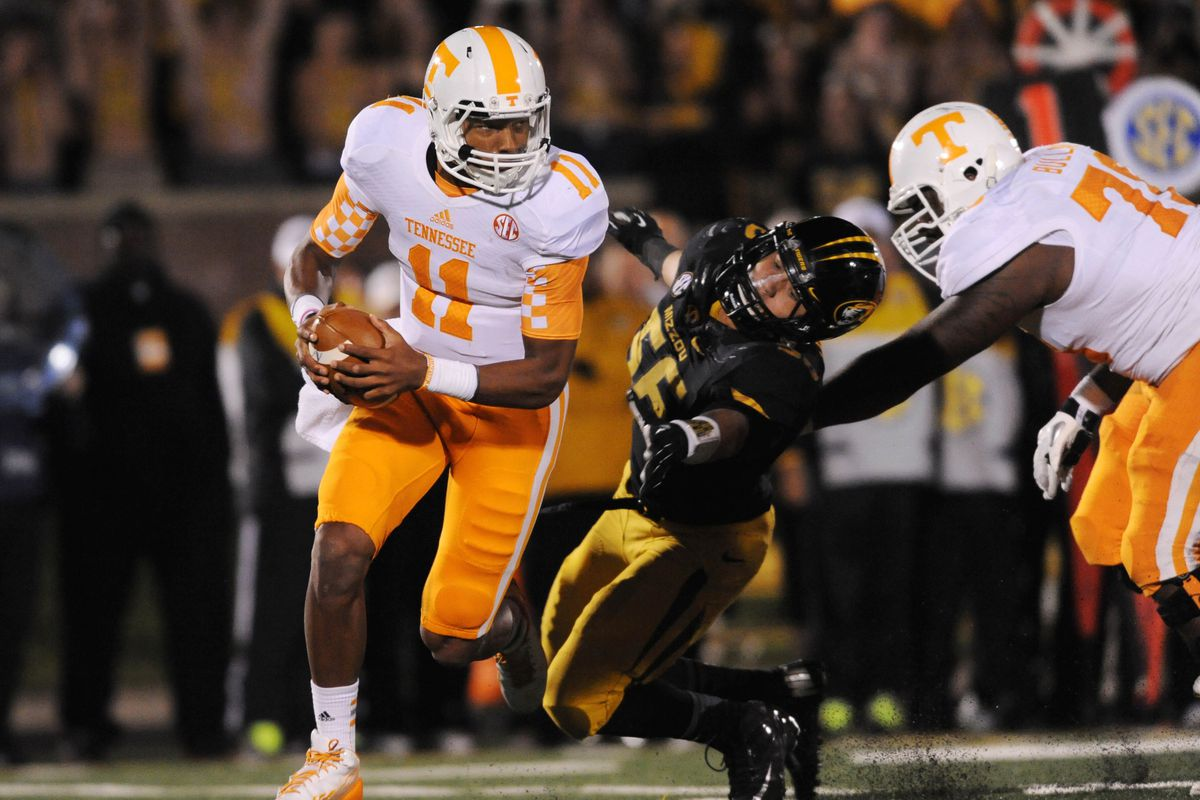 Justin Dobbs is familiar with the peril of facing a black and gold defense in 2013.