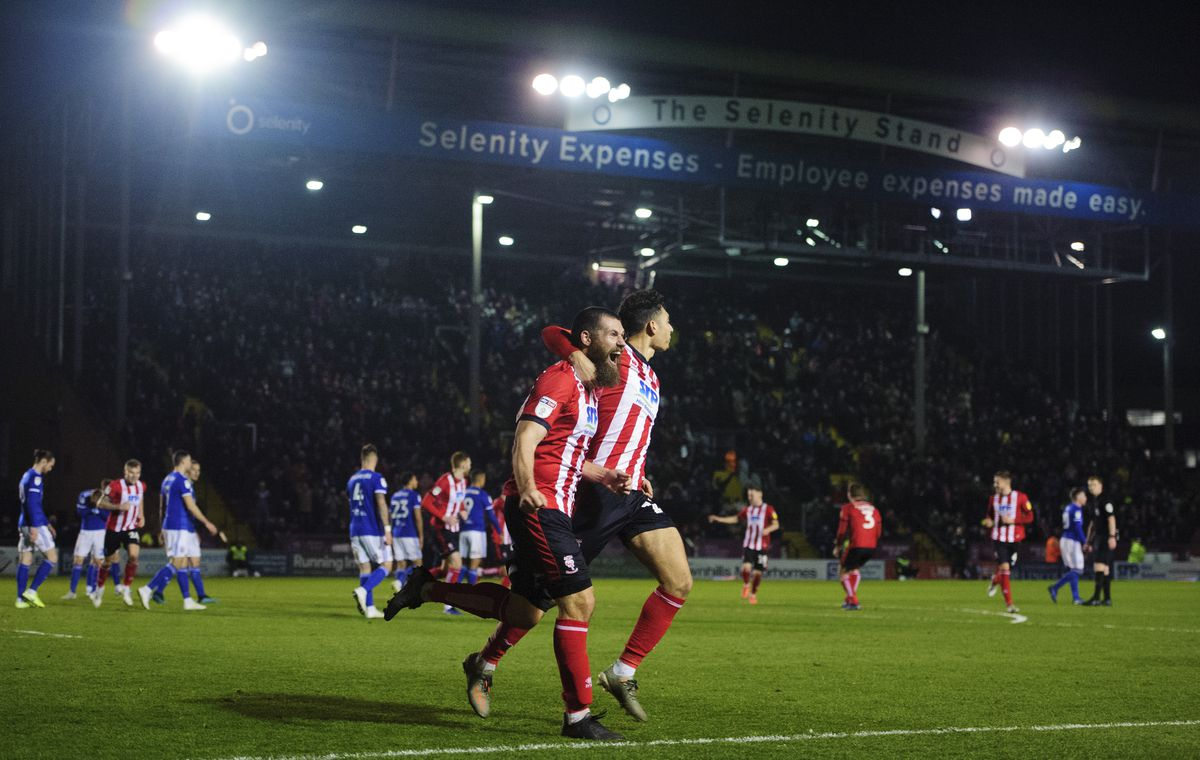 Lincoln City v Ipswich Town - Sky Bet League One