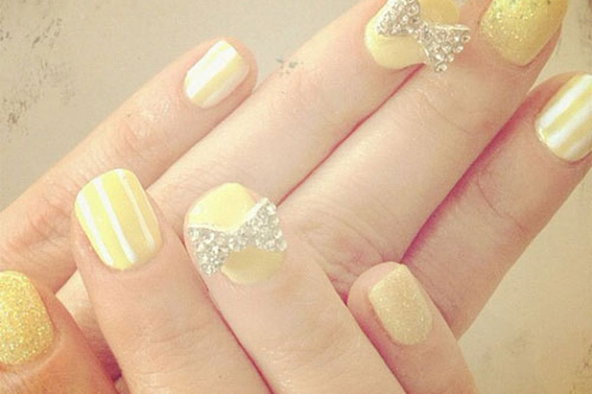 There is nothing more adorable than these nails. And we've seen a lot of baby animals.