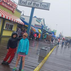 End of the road for Route 66 at Santa Monica Pier