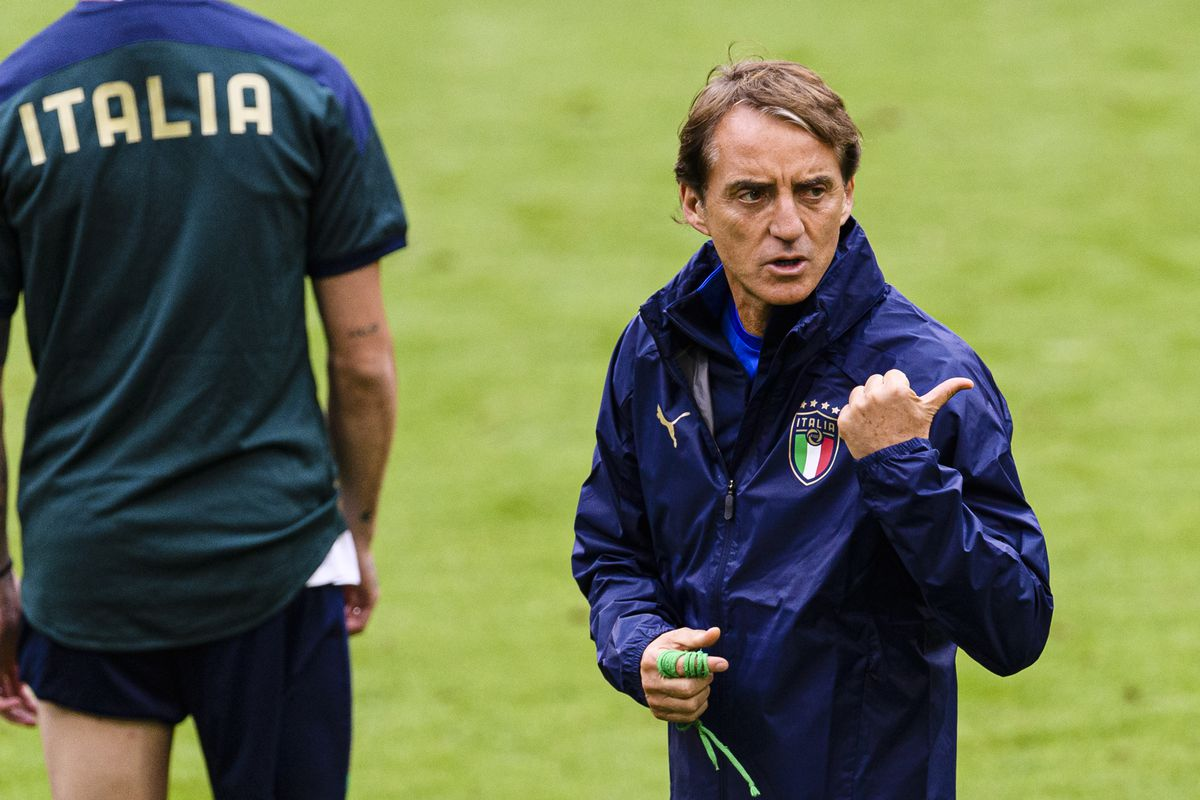 Italy Training Session and Press Conference - UEFA Euro 2020: Quarter-final