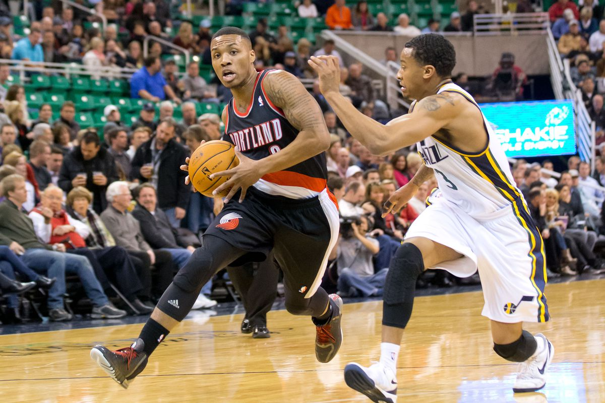 Game preview utah jazz at portland trail blazers the for Sport court utah