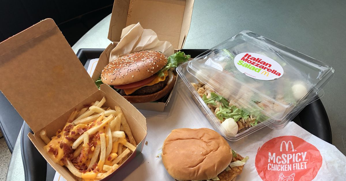 McDonald's HQ's New Restaurant Features Food From Around the ...