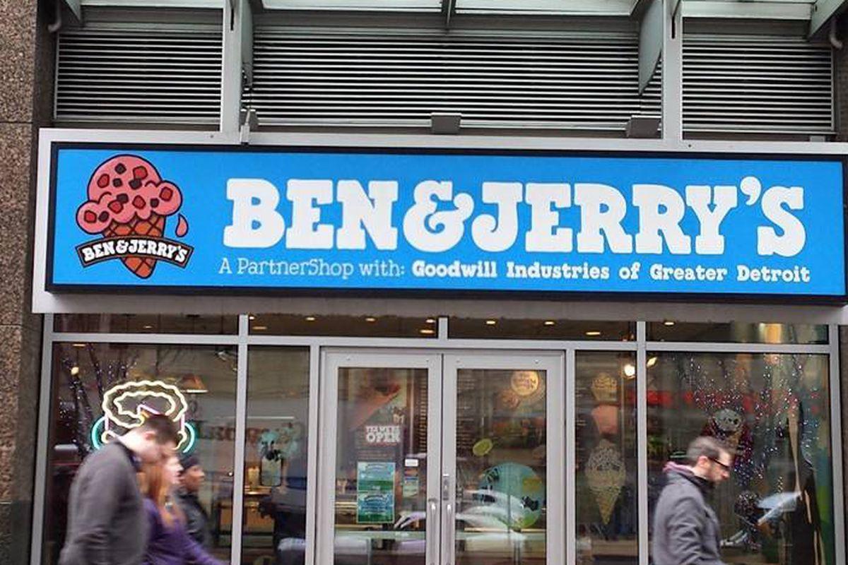 Ben & Jerry's.