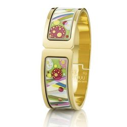 First Love Floral Symphony Regina Clasp bangle, $1,640