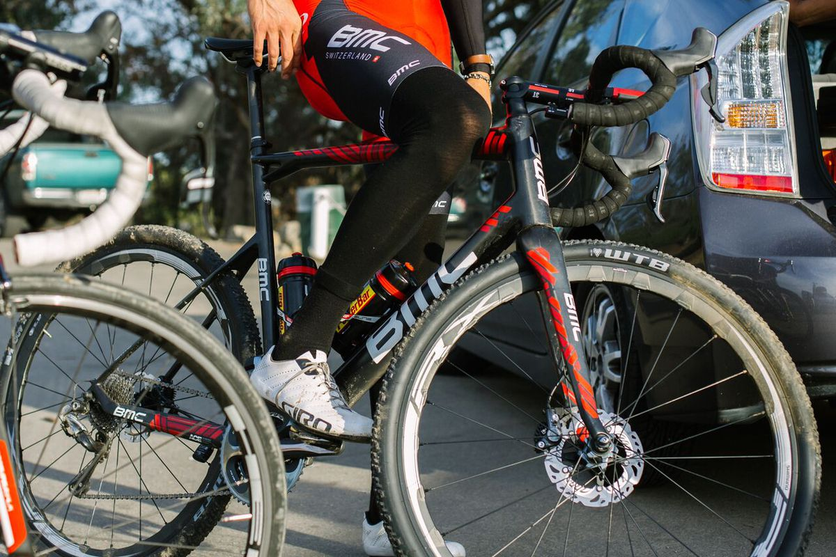 Taylor Phinney saddles up