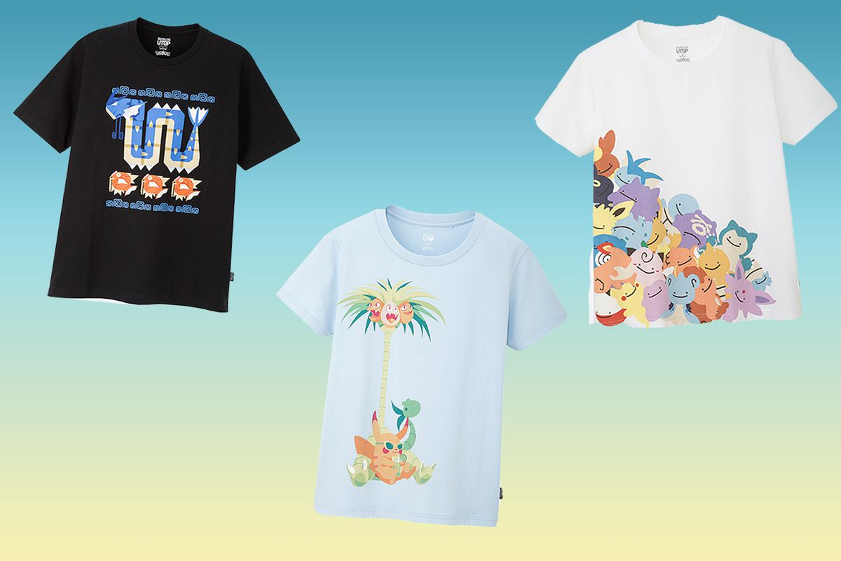 282ae37a Uniqlo's Pokémon T-shirt design contest winners announced - Polygon