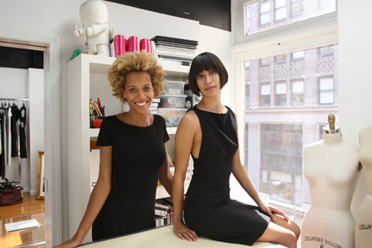 """Carly Cushnie and Michelle Ochs,  via <a href=""""http://www.graziadaily.co.uk/fashion/archive/2012/10/19/exclusive-cushnie-et-ochs-talks-to-grazia-about-ruling-the-red-carpet.htm"""">Grazia</a>"""
