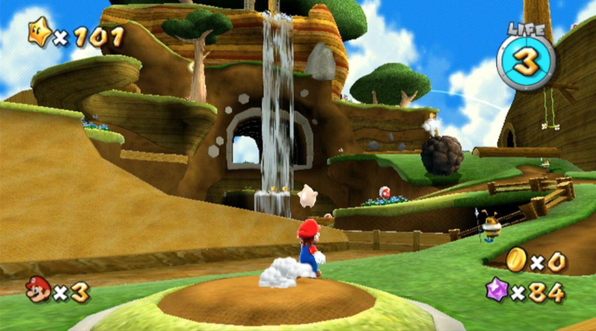 Bee Mario Takes Flight – Luigi in the Honeyhive Kingdom